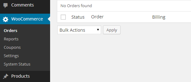 Manage Orders with WooCommerce