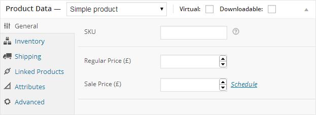 WooCommerce Product Data 01
