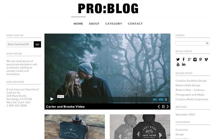 Pro Blog