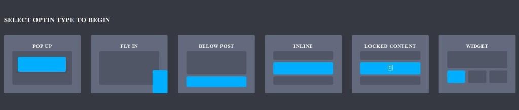 Bloom Plugin For WordPress Display Types